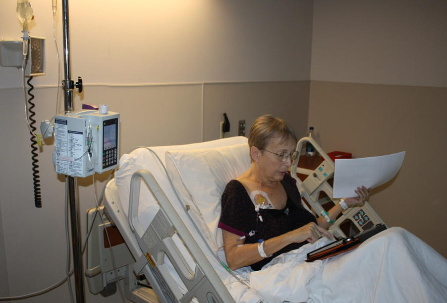 Using Medi Port while in hospital